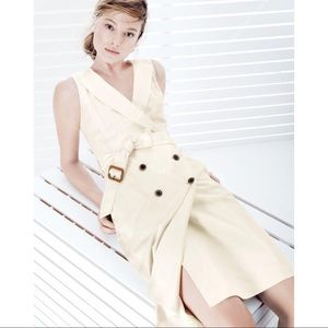 J.Crew Trench Dress in Super 120s [2]
